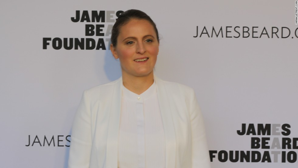 April Bloomfield of The Spotted Pig, The Breslin and several other restaurants won the 2014 James Beard Award for Best Chef NYC.