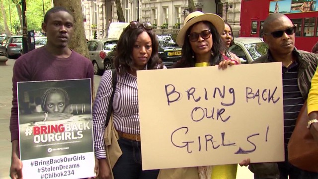 London joins campaign for kidnapped girls