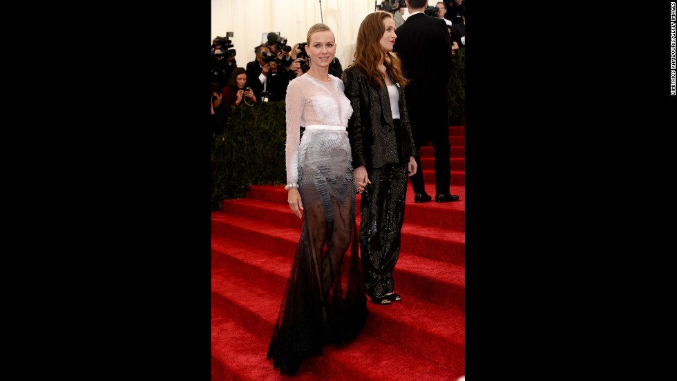 Naomi Watts and French actress Isabelle Huppert.