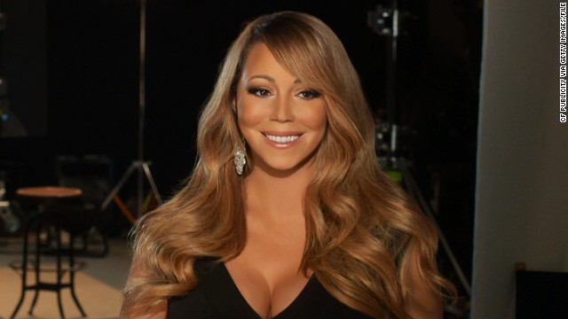 In this handout image provided by CF Publicity, Singer Mariah Carey smiles in an unspecified location on February 13, 2013. Carey has recorded the song, 'Almost Home' for the soundtrack to the Disney feature film 'Oz The Great and Powerful' directed by Sam Raimi in theatres in the US on March 8. (Photo by CF Publicity via Getty Images)