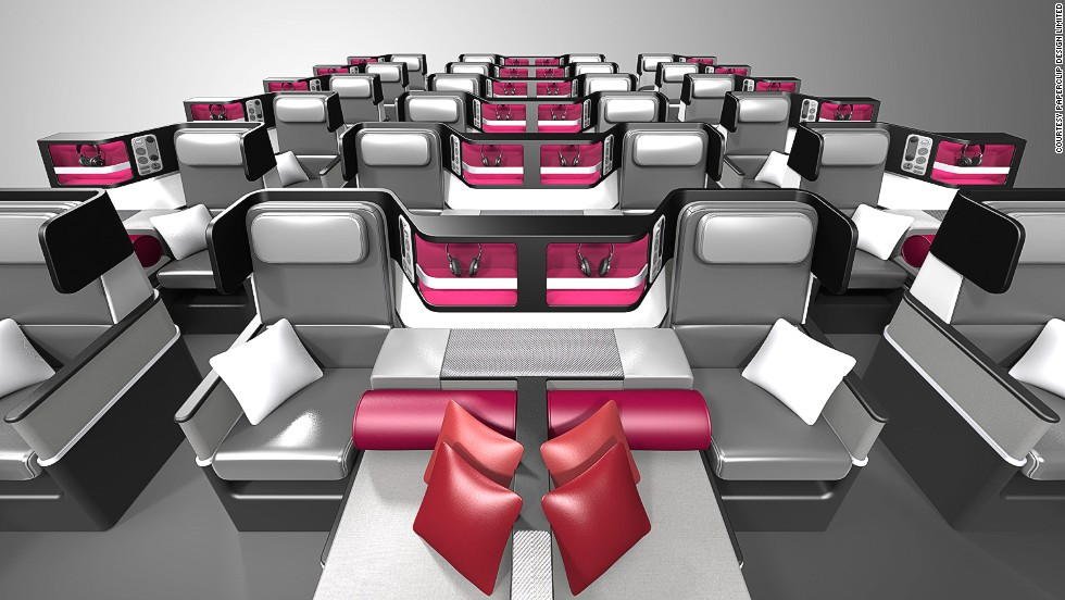 Paperclip Design Limited won a Crystal Cabin Award for its Caterpillar Convertible seat. It can be configured as a roomy Premium Economy seat or converted into a Business Class seat with a lie-flat bed and direct aisle access.