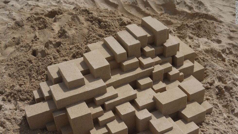 And blocky brutalist forms.