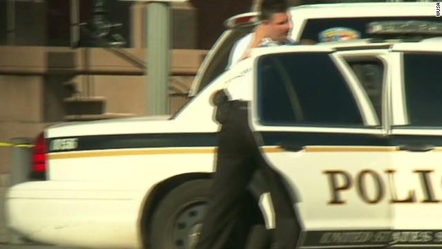 White House lockdown suspect in custody