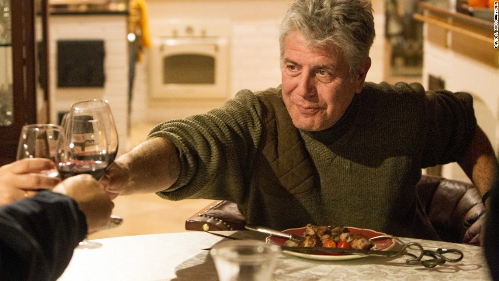 "In Pavlovsk, a small St. Petersburg suburb, Bourdain visits the country home of Sergey Gutzait, a friend of Vladimir Putin and owner of the VIP-friendly <a href=""http://www.russkaya-storona.ru/petersburg/restaurants/Podvorye/"" target=""_blank"">Podvorye restaurant</a>."