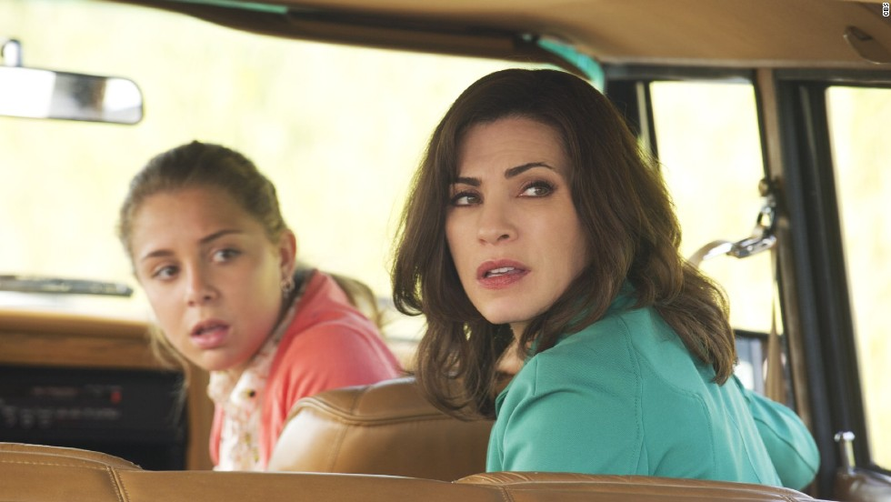 """Alicia Florrick (Julianna Margulies, right, with Makenzie Vega as daughter Grace) on """"The Good Wife"""" has been through a lot: her husband's infidelity, challenges at her law firm, up-and-down relationships. She can be mercurial, but as a mother, she's steadfast and protective."""