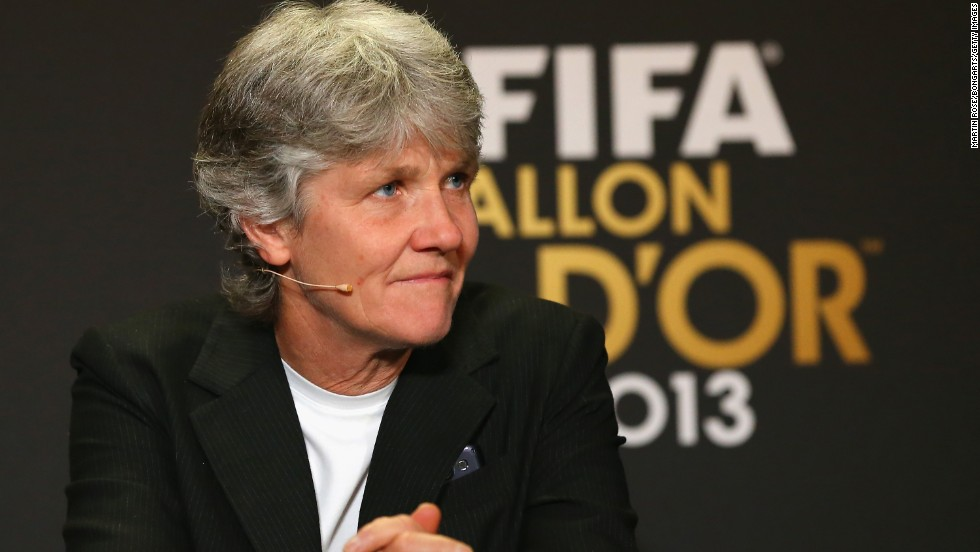 Pia Sundhage is currently in charge of the Sweden women's team, but the former player really made her name as a coach with the U.S. Sundhage led the side to back-to-back Olympic gold medals in 2008 and 2012, while she was also named FIFA World Coach of the Year in 2012.