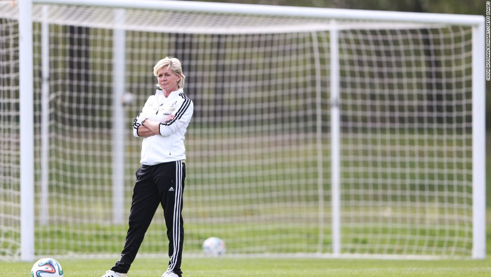 Silvia Neid, a former German international, is the current coach of the Germany women's team. She has guided the side to World Cup glory as well as two European Championships. Neid has also twice won FIFA's World Coach of the Year award.