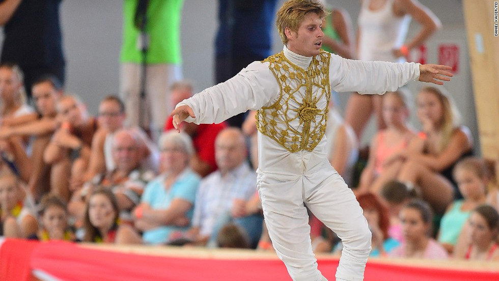 Male vaulters are in short supply in some nations, though France has a strong men's team. Jacques Ferrari, pictured, won European gold last year.