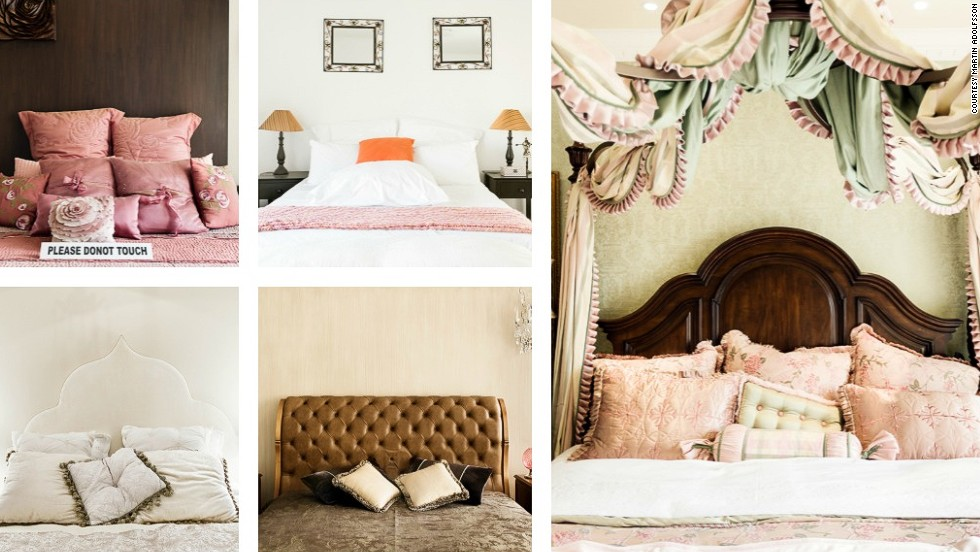 "Bedrooms were another place that followed a similarly western theme. Some went for a classic European four-poster bed style while others followed more minimalistic values.<br /><br />These pictures were taken in India (left top), Egypt (left bottom), South Africa (center top), Russia (center bottom) and China (right).<br /><br /><strong>Suburbia Gone Wild, is available via Amazon and Martin Adolfsson's personal <strong></strong><a href=""http://suburbiagonewild.com/order-the-book/"" target=""_blank"">website</strong></a><strong>.</strong><br />"