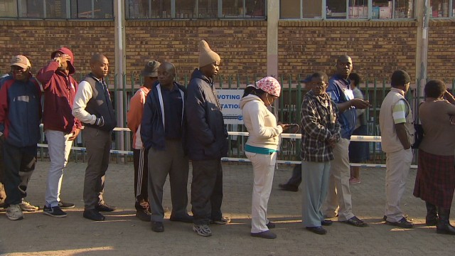 First South African vote since Mandela's death