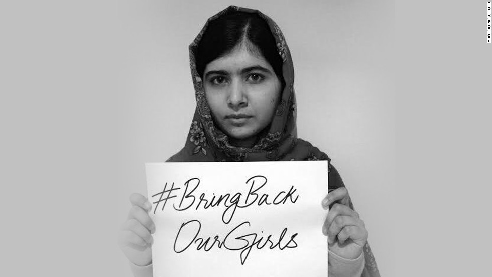 Malala: 'Girls in Nigeria are my sisters'