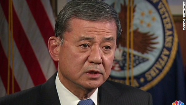 W.H.: Shinseki deserves credit