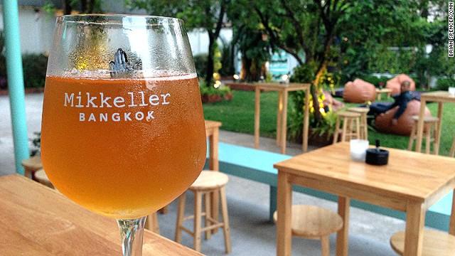 Mikkeller Bangkok is the brand's first bar in Asia.