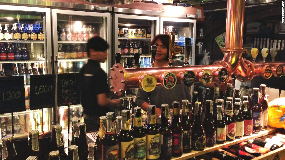 BREW's bottle selection is unsurpassed in Bangkok. The vibe is more clubby than at the average beer bar.