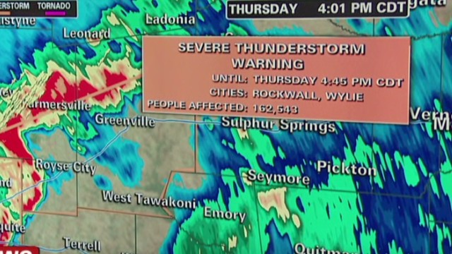Dallas braces for severe weather