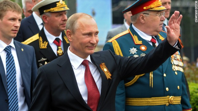 Putin celebrates 'Russianness' in Crimea