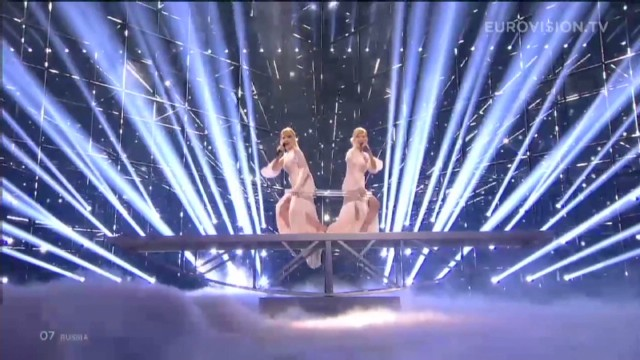 At Eurovision, politics in the spotlight