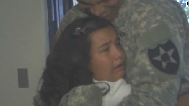 pkg soldier surprises sister at elementary school_00004224.jpg
