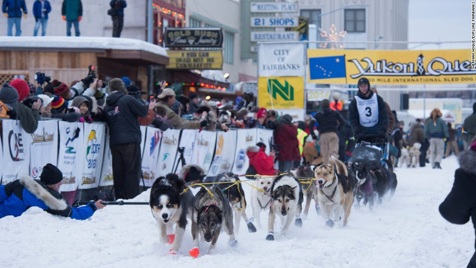 Winter brings extreme cold to Fairbanks. But also snow machining, ice fishing, snow biking and dog mushing.
