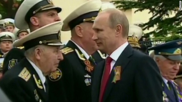 Putin's show of force in Crimea