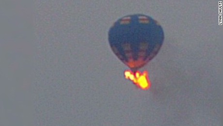 Deadliest hot air balloon crashes
