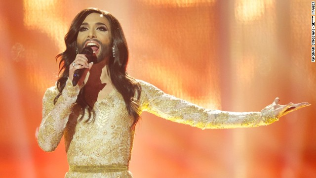 'Bearded lady' wins Eurovision contest