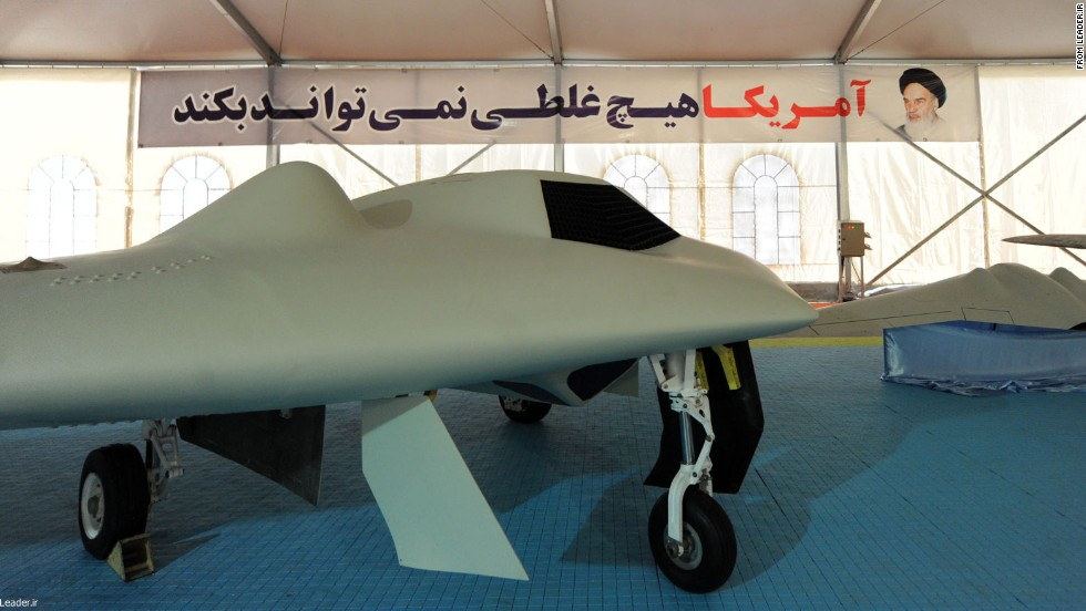 Iran says its new drone is a copy of Lockheed Martin's RQ-170 Sentinel.