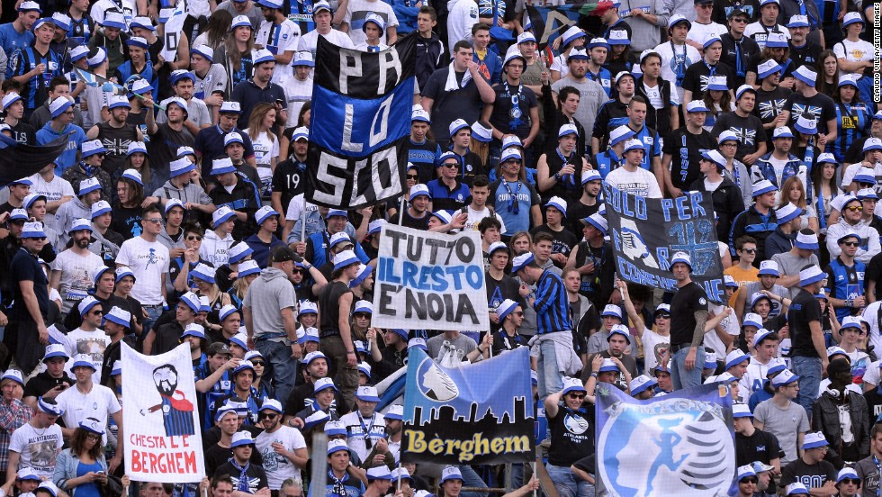 Atalanta fans are likely to face punishment from the game's authorities following the incident.
