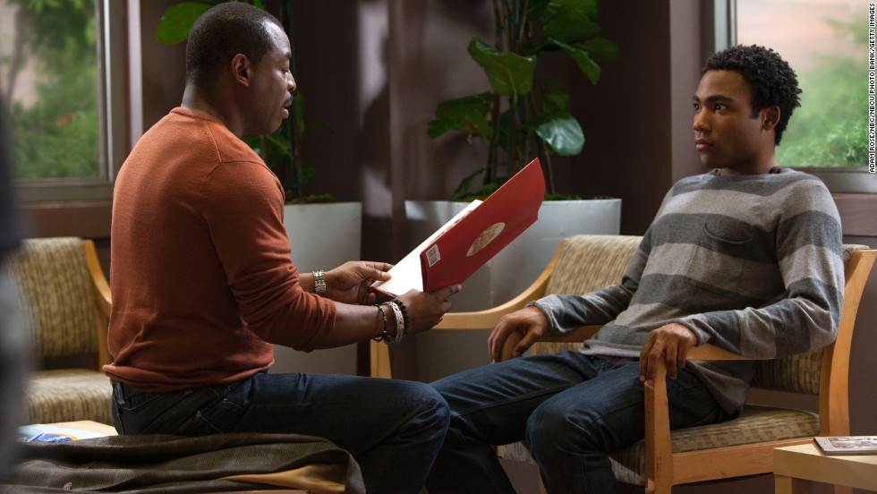 "Burton first appeared as himself on the TV show ""Community"" in 2010. The character Troy, played by Donald Glover, was such a fan that he couldn't speak while in Burton's presence -- and cried when the actor sang the ""Reading Rainbow"" theme song."