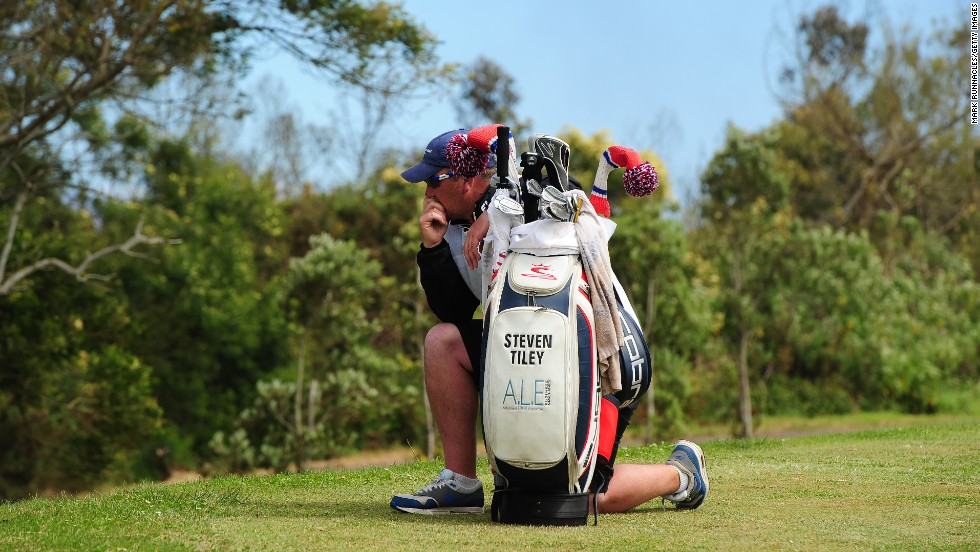 A fellow caddy mourns the death of Ian MacGregor, who tragically died on the ninth fairway on Sunday, May 11, during the final round of the Madeira Islands Open in Funchal, Portugal.  MacGregor, 52, was caddy to Scotland's Alastair Forsyth.