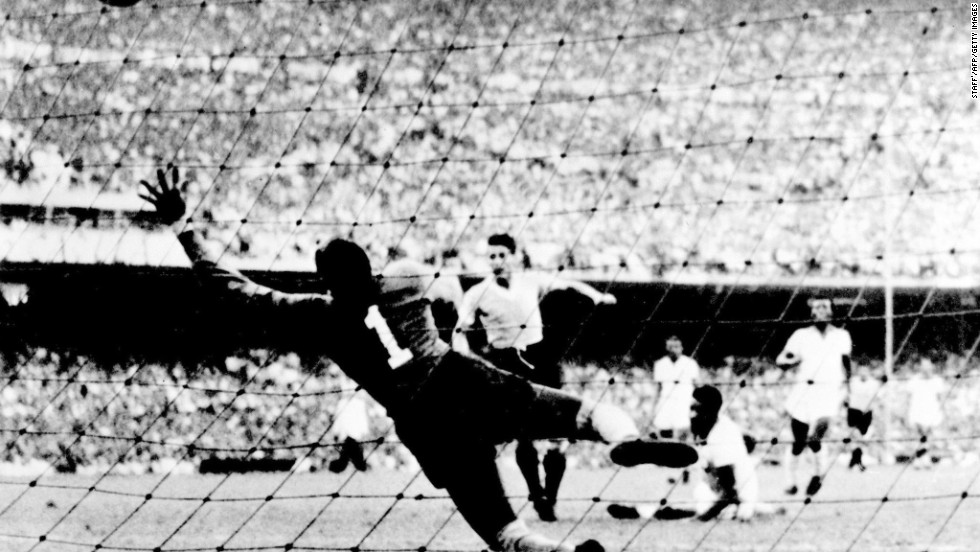 With the World Cup being held in Brazil, the host nation was expected to win the trophy for the very first time in its history. Needing just a point from the final group game against Uruguay, Brazil took the lead through Friaca. The party was underway but then disaster struck, the visitors equalized through  Juan Alberto Schiaffino before Alcides Ghiggia netted the winner.