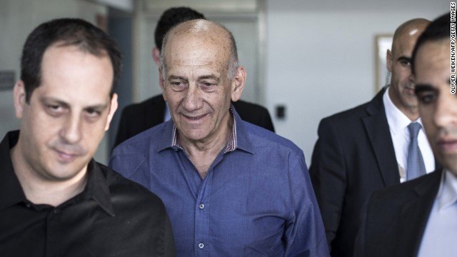 Fmr. Israeli PM given 6 year prison term