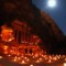 petra jordan illuminated at night