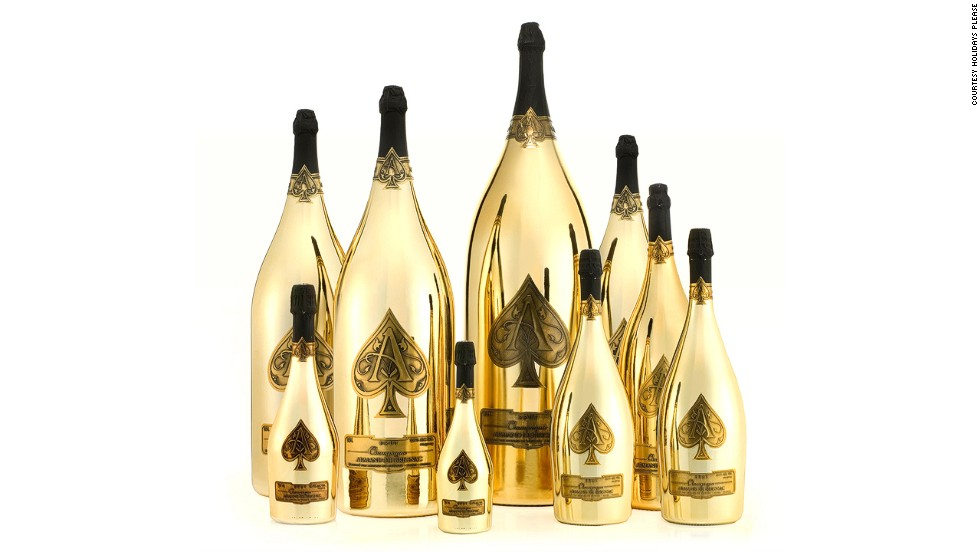 "While in Monte Carlo, they'll party at Flavio Briatore's Billionaire Sunset Lounge in the Hotel Fairmont Monte Carlo, quaffing selections from the $565,000 ""in-house Armand de Brignac Dynastie"" champagne collection."
