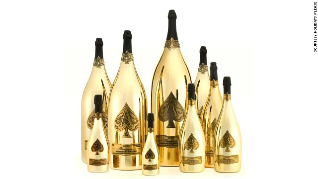 "The $565,000 ""in-house Armand de Brignac Dynastie"" champagne collection."