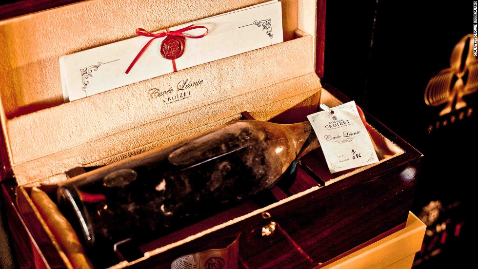 The Winston is thrown together with a 19th-century Cognac coming in at $170,000 a bottle, a dash of Grand Marnier, a soupçon of Chartreuse and a dash of those much sought after select Caribbean Angostura Bitters.