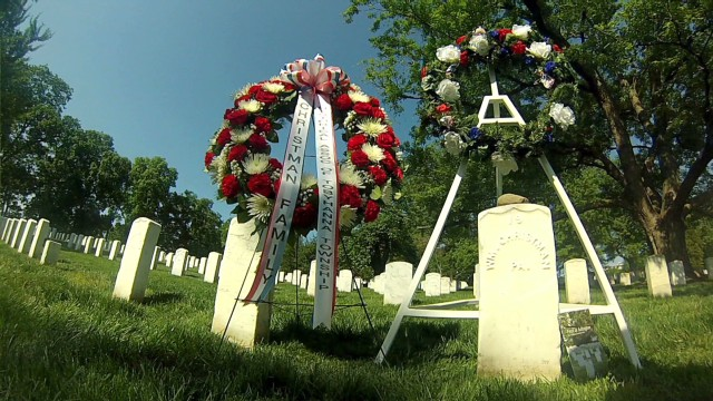 First soldier buried at Arlington was in May 1864