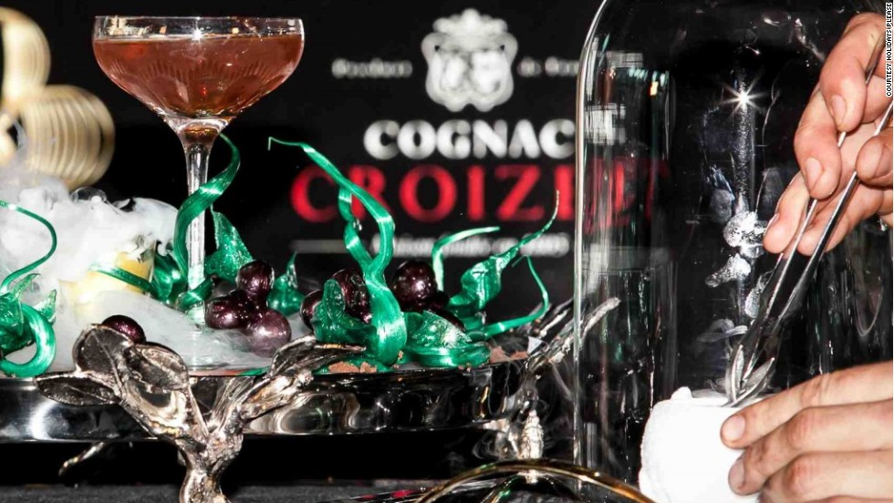 At Melbourne's Crown Entertainment Complex tour members will be handed a Winston, the costliest cocktail in the world according to Guinness World Records.