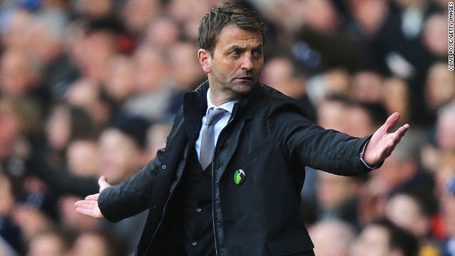 Tim Sherwood had fulfilled just five of the 18 months in his deal before being dismissed by Tottenham owner Daniel Levy