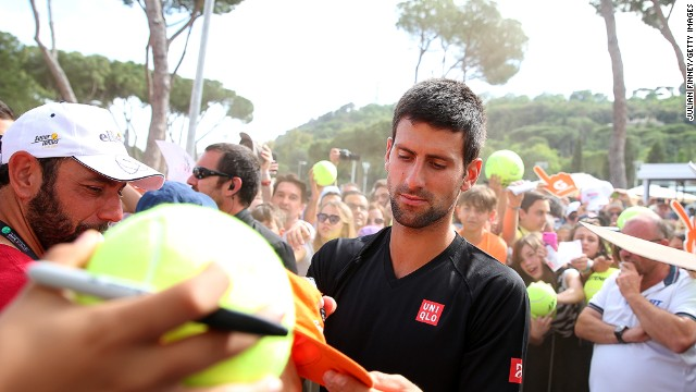 Novak Djokovic came through what he described as some of the toughest conditions of his career.