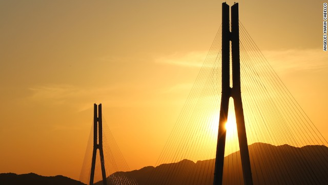 Tatara is one of the world's longest cable-stayed bridges.