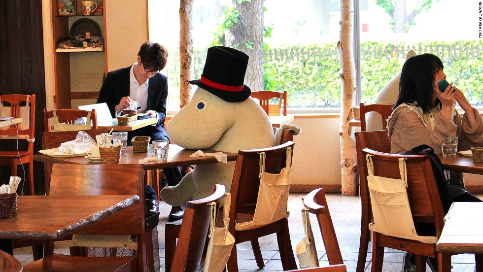 "While there are <a href=""http://www.benelic.com/english/service/#moomin_house"" target=""_blank"">three Moomin Cafe locations </a>in Japan, the Tokyo Dome cafe is popular with Dome concert goers."