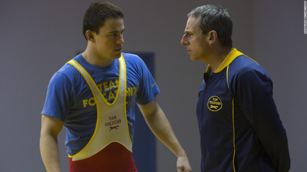 "<strong>""Foxcatcher""</strong>: Channing Tatum stars in Bennett Miller's drama based on the true story of Olympic wrestling star Mark Schultz and his mission to get justice for his brother, who was killed by schizophrenic John du Pont (Steve Carell)."