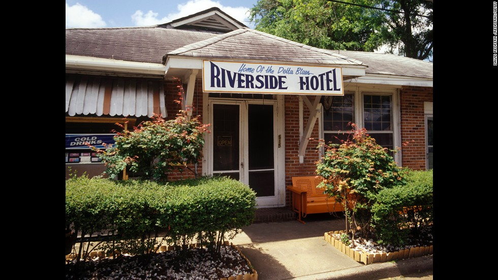 Unique lodging can add another layer of history to your visit. Blues singer Bessie Smith died from injuries she received in a car wreck at the G.T. Thomas Hospital, now the Riverside Hotel, in Clarksdale.