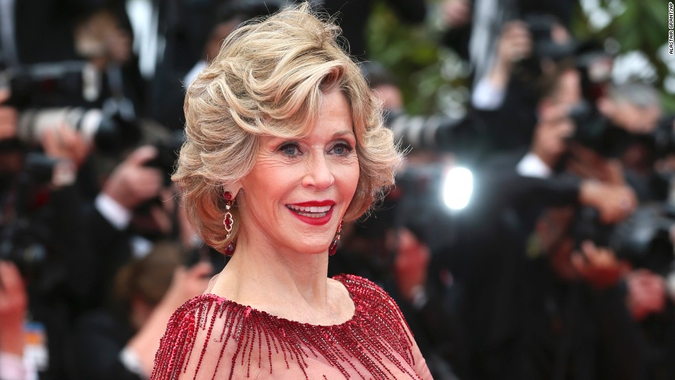 Actress Jane Fonda on May 14
