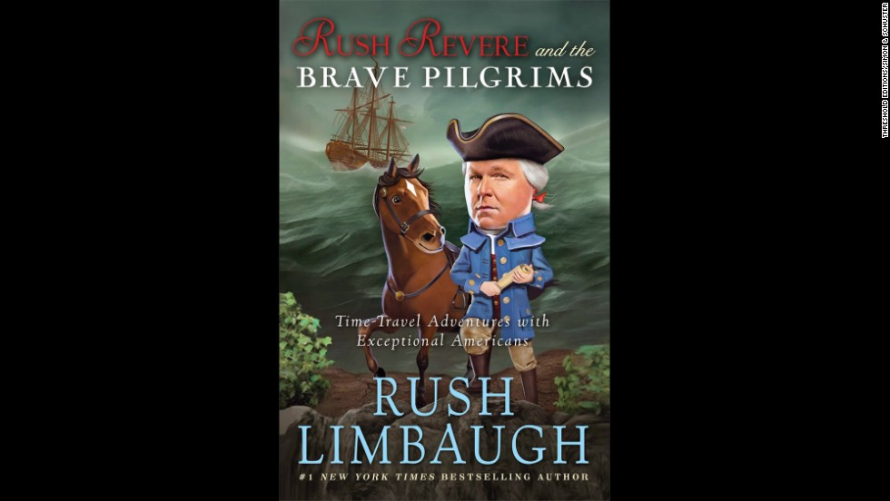 "<strong>Author of the year:</strong> Rush Limbaugh, ""Rush Revere and The Brave Pilgrims: Time-Travel Adventures With Exceptional Americans"""