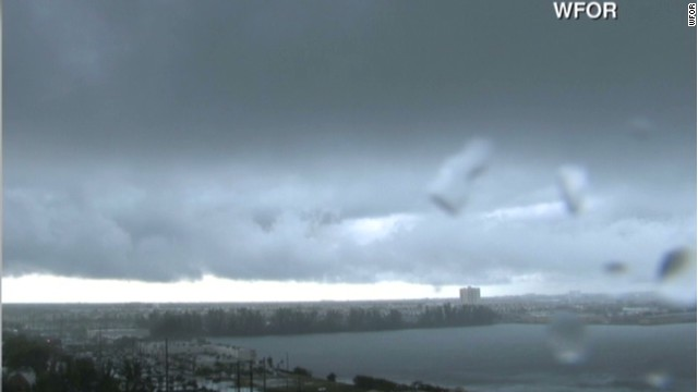 Tornado spotted near Miami airport