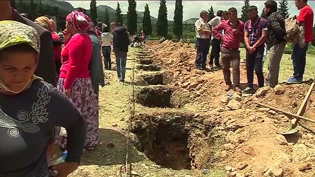 Mine disaster leaves families devastated