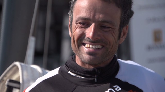 Sailing champ sets his eyes on Rio