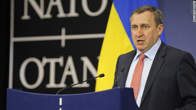 Ukraine FM: Portions of Ukraine in chaos